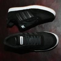 Sepatu Adidas Neo Classic Grade Ori - Full Black Hitam - Casual Pria