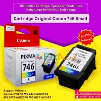 Tinta Cartridge Canon CL746S CL 746S Printer iP2870 iP2872 MG2570 MX49