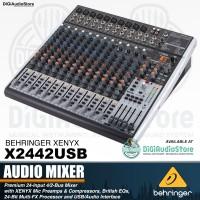 Behringer XENYX X2442USB 12 Channel Audio Mixer USB Soundcard dan Efek