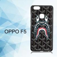 Casing Hardcase HP Oppo F5 bape goyard black X5868