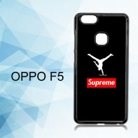 Casing Hardcase HP Oppo F5 Supreme x Jordan Black X4913