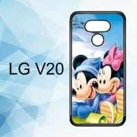 Casing Hardcase HP LG V20 Mickey Mouse And Minnie Mouse X4965