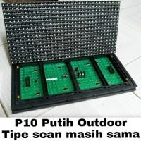 LED Module P10 Putih Outdoor