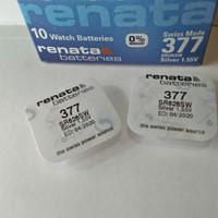 Baterai Jam Tangan Renata 377 626 SR626 SR626SW Original Battery