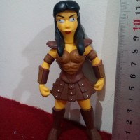 Action Figure The Simpsons - Lucy Lawless