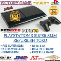 PS3 PS 3 PLAYSTATION 3 SUPER SLIM 320GB OFW + FULL GAME