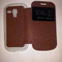 Casing Flip Cover Samsung S3 Mini Case Buku/Sarung HP/Buka Tutup/Flip