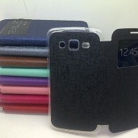 Casing Flip Cover Samsung Core 2 Case Buku/Buka Tutup/Sarung HP/Flip