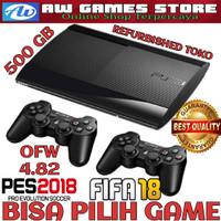 PS3 PS 3 SONY PLAYSTATION 3 SUPER SLIM 500 GB OFW