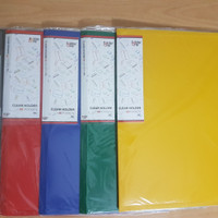 Clear Holder 20 lembar Folio / F4 Folder One