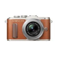Harga olympus pen e pl8 kit 14 42mm kamera mirrorless coklat | Pembandingharga.com