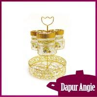 Vicenza  Candy Jar With Water Rack Toples Permen dengan Wadah Air GA3