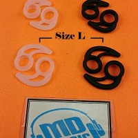 Earhook earbuds silicon/Ear Hook earbud/Karet Earhook Diameter 15 mm