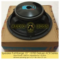 Speaker Full Range 15 inch 15 15700 Deluxe ACR Series