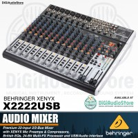 Behringer X2222USB [ X 2222 USB ] Audio Mixer with Soundcard recording