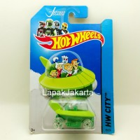 Hot Wheels The Jetsons Capsule Car Diecast Movie Series Miniatur Mobil