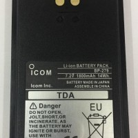 BP279 ICOM Battery IC-V88 dan IC-U88 Original