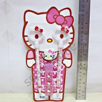 Stationery Set Anak RS 7388 Hello Kitty (pink)