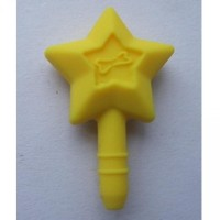 Anti Dust Plug Accessories-Kuning-Star