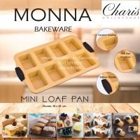 SIGNORA MONNA BAKEWARE - Mini Loaf Pan Loyang Kue Roti Unyil