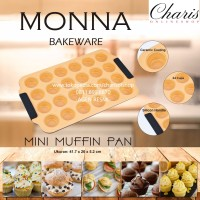 Jual SIGNORA MONNA BAKEWARE - Mini Muffin Pan Loyang Kue Murah