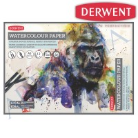 Derwent Watercolour Pad A3 Landscape - buku gambar