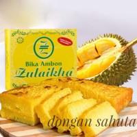 Bika Ambon Medan Zulaikha (Besar) Durian / keju / pandan / pandan keju