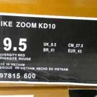 EKSKLUSIF Sepatu Nike Zoom Kevin Durant 10 Original - Sepatu Basket -