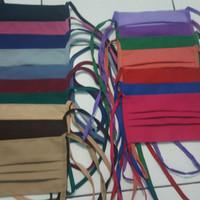 masker kain tali hijab nyaman warna warni fashion muslim lucu acesoris