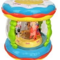 Termurah!! Wonderland Merry Go Round Music Drum Mainan Bayi