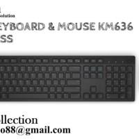 DELL Keyboard & mouse wireless KM636