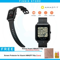 Xiaomi Huami AMAZFIT Bip Smartwatch Inter Version + Screen Protector