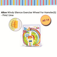 AE14 Silence Exercise Wheel Small Roda Putar Mainan Hamster