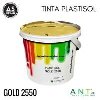 Tinta Sablon Kaos Ant Ink Plastisol Gold 1kg Limited
