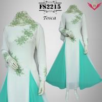Gaun Pesta Muslimah Renda Payet 2215