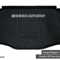 Karpet Bagasi  Tranktray Honda All New Jazz 2015 - 2016 - 2017 mobil