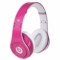 Beats by Dr Dre Studio Pink Headphone OEM Quality Clear Bass Sound