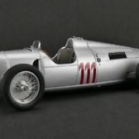 1937 AUTO UNION TYPE C #111 HILL CLIMB HANS STUCK LTD 1500PCS 1/18 CMC