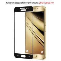 Samsung C9 PRO C9PRO 2017 Tempered Glass Color Full Screen Protector