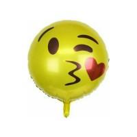 Balon Foil Emot / Emoticon / Emoji
