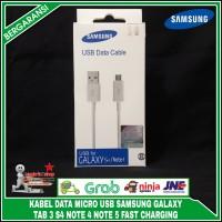 Kabel data USB samsung s4 note 4 Tab 3,Grand, Mega J1 j2 original 100%