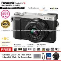 kamera panasonic lumix gx85 DMC-GX85 silver RESMI+SDHC8GB+FILTER+TAS
