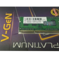 RAM DDR3 SODimm V-GeN 2GB PC12800/1600Mhz (Memory Laptop VGEN)