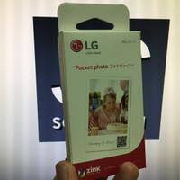 ZINK Paper / LG Pocket photo paper / 30 sheets / 30 lembar / 3 bungkus