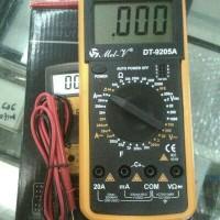 harga Multitester / Multimeter Digital Dt9205a Tokopedia.com