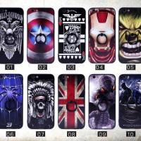 Fuze Motif Man Case + Ring Samsung J7 PRO / Case 3D Timbul / Cover