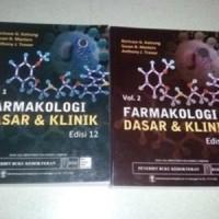 Farmakologi Dasar & Klinik vol 1+2 , ed.12 - Katzung - ORIGINAL