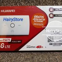 Modem Mifi 4G LTE Huawei E5673 Unlock (Bonus Paket Internet Smartfren)