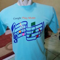 t-shirt/kaos/baju/Google Play Music