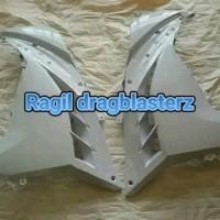 fairing atas / samping putih ninja 250 fi original kawasaki